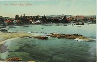 .RARE SYDNEY , WATSON'S BAY NEW SOUTH WALES EARLY 1900'S POSTCARD