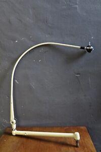 Arztlampe Bauhaus Lampe Gelenklampe Werkstattlampe Industrie Loft Art Deco