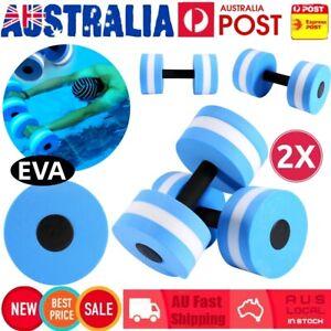 Water Aerobics Dumbbell EVA Aquatic Barbell Medium Aqua Fitness Pool Exercise