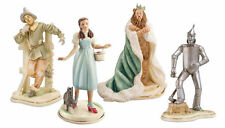 Lenox Tin Man Dorothy Toto Scarecrow Cowardly Lion Figurines 4 Wizard of Oz New
