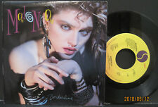 "MADONNA ""Borderline"" 45rpm with POSTER SLEEVE 1984 Sire Records EX Condition"