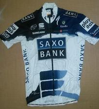 SPORTFUL SAXO BANK  2010 cycling Jersey Mens SIZE Medium.