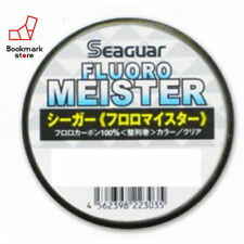 NEW Seaguar Fluoro Meister 320m 3lb #0.8 Clear 0.148mm Fluorocarbon Line Japan