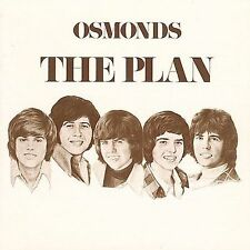 The Plan by The Osmonds CD 2001, Curb Signed By Wayne, Merrill And Jay Osmond