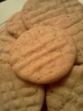 Homemade Peanut Butter Cookies, Soft & Chewy, 3 Dozen!