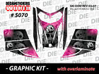 SKI-DOO REV MXZ SNOWMOBILE SLED WRAP GRAPHICS STICKER DECAL KIT 03-07 5070
