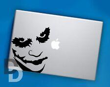 Joker Macbook decal / Vinyl Laptop sticker / Batman Stencil