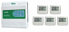Package Deal: Azel 5 Zone Switching Relay with 5 Floor Heating Thermostats