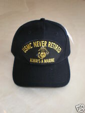USMC NEVER RETIRED ALWAYS A MARINE Military Cap