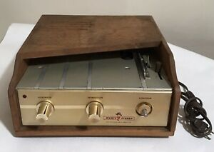 Rare Vintage Muntz Stereo 4 Track Home Tape Player Powers On