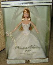 BARBIE COLLECTIBLES ROMANTIC WEDDING 2001 THE BRIDAL COLLECTION, NEW, NRFB