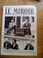JOURNAL LE MIROIR N°169 - 18 2 1917 - WILSON