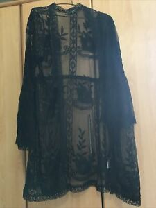 Black Kimono XL