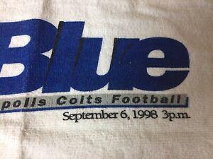 PEYTON MANNIN RARE ROOKIE IST GAME 1998  RALLY TOWEL - NFL - NRG SGA GREAT ITEM