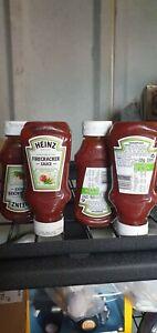 4 X 225g Heinz Mexican Style Firecracker Fiery Smokey Sauce bb 8th May 2021