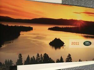 Catalogue / Brochure LAND ROVER / RANGE ROVER de 2011 --