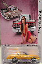 """Hot Wheels CUSTOM MONTEZOOMA """"Lowriders"""" Real Riders Limited 1/5 Made"""