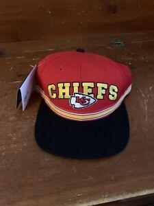 Vintage 90s NWT Kansas City Chiefs NFL Starter Official Velcro Snapback
