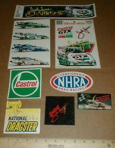 LG Lot John Force New drag racing Decal Sticker National Dragster NHRA Castrol