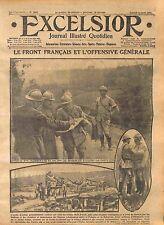 Général Georges Louis Humbert & Marchand à Curlu Bataille de la Somme WWI 1916