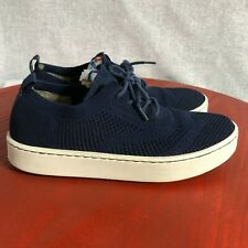 Born Tamara Women's Size 9.5M Shoes Blue White Lace Up Comfort Walking Sneakers