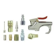 Campbell Hausfeld 10 Piece Accessory Kit Air Compressor Inflator Blow Gun Nozzle