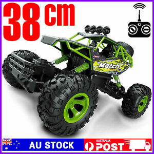 RC 4WD Truck Off-Road Buggy 2.4G Crawler Kids Toy Remote Control Car RTR Monster