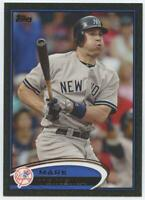 2012 Topps Black NUMBERED Parallel /61 Mark Teixeira #110 New York Yankees