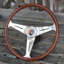 Volant Nardi Bois Facel Vega 39cm Complet avec moyeu Facel ou Autres Anciennes