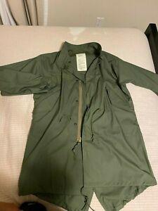 Bronson M-65 Fishtail Parka Shell Men sz Small Military Uniform Waterproof Coat