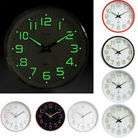 "12"" 30cm Wall Clock Large Luminous Night Light for Home Office Kitchen Kidroom"