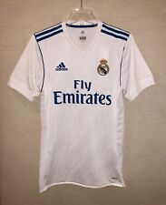 Adidas Real Madrid 2017-18 Home Soccer/Football Jersey/Shirt B31097 - Adult S/L
