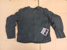 "RK Sport Mens Leather Motorcycle Motorbike Jacket Size UK 48""- 50""  chest (C85)"