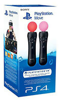 Playstation 4 PS4 Move Motion Controller Twin Pack (Playstation VR) IT IMPORT