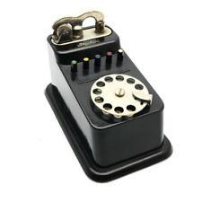 Vintage Saxony German Triphon Bakelite Figural Telephone Table Lighter - NICE