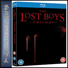 THE LOST BOYS TRILOGY --Lost Boys-The Tribe-The Thirst *BLU-RAY REGION FREE***