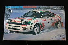 XO034 HASEGAWA 1/24 25061 CR101 Toyota Celica Turbo 4WD 1993 RAC Rally winner