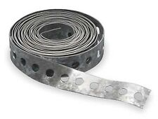 3/4 in. x 100 ft. Perforated Galvanized Steel Hanger Strap for ducts and others