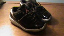Jordan 11 Retro Low BT Black/Infrared 23-PR Platinum  505836 023 - Size 9.5C