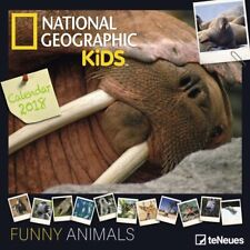 CALENDRIER 2018-NATIONAL GEGRAPHIC- FUNNY ANIMALS - 30 x 30 cm