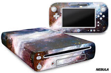 Skin Decal Wrap for Nintendo Wii U Gaming Console & Controller Sticker NEBULA
