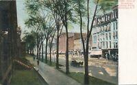 SARATOGA SPRINGS NY – Broadway looking North - udb (pre 1908)