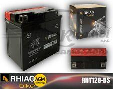 RHT12B-BS BATTERIA MOTO RHIAG YUASA YT12B-BS 10Ah 150A + LIQUIDO
