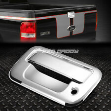 FOR 04-08 FORD F-150/08-14 F-250 CHROME TAILGATE DOOR HANDLE COVER REAR TRIM KIT