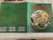 rare panini euro football 79 sticker album  not complete