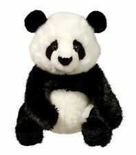 "Douglas Paya PANDA 11"" Plush Stuffed Sitting Realistic Bear Cuddle Toy NEW"