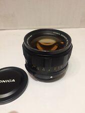 Konica Hexanon AR F1.2 57mm SLR Prime lens A++ Late sN# RARE
