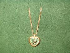 "STAR CRYSTAL *NEW* Pendentif Coeur Lettre ""Z"" chaîne dorée Pendant crystal/gold"