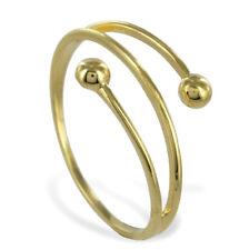 ECHT GOLD *** Kugel Ring Größenauswahl