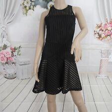 Sass & Bide Black Sheer Sleeveless Sexy Dress Size 4